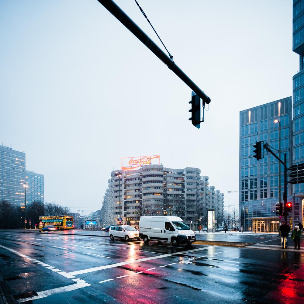 berlin, schnee, regen, spittelmarkt