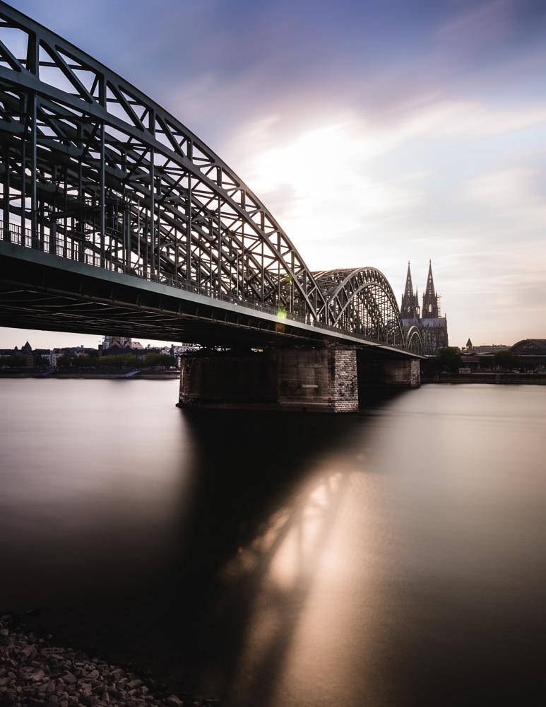 kölner dom, hohenzollernbrücke, rhein