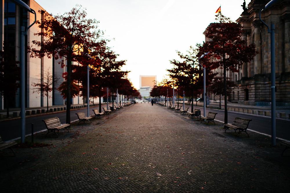 berlin, herbst, sonne