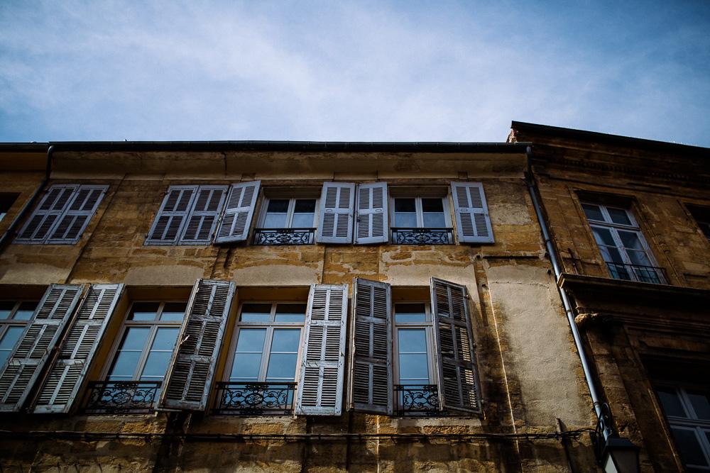 Aix-en-Provence Häuserfront