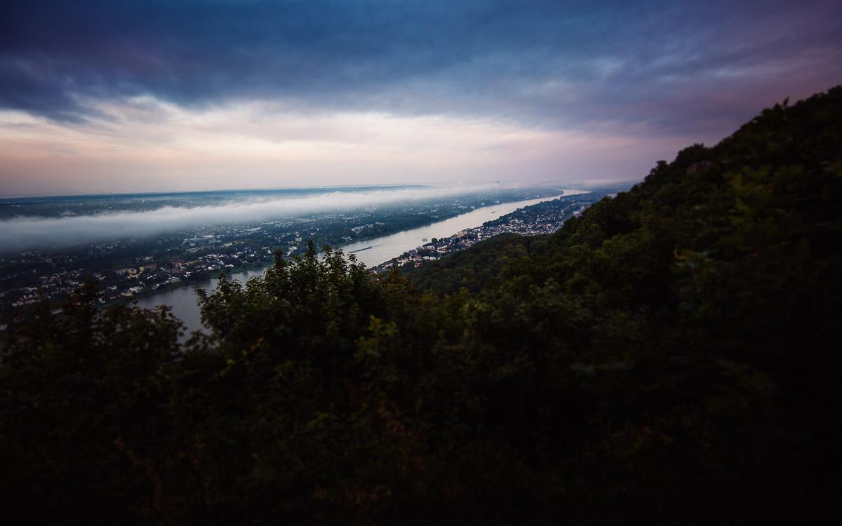 Bonn, Drachenfels, Rhein, Siebengebirge