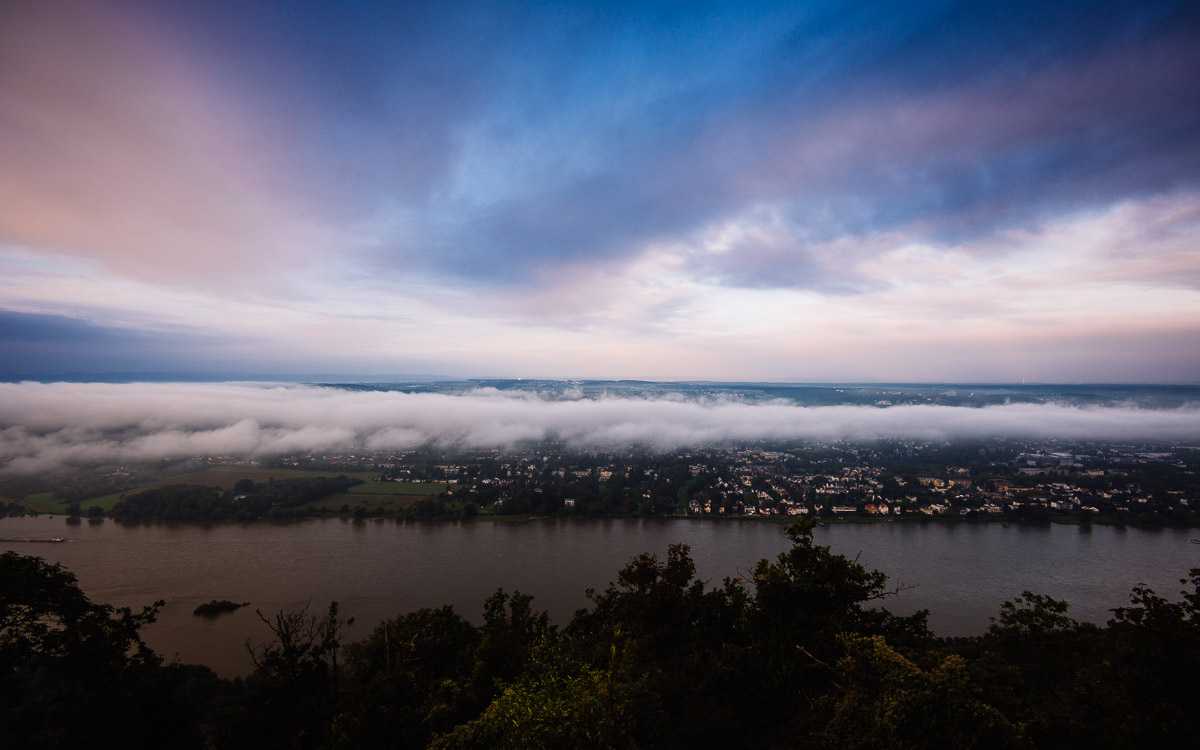 Siebengebirge, Bonn, Drachenfels, Rhein