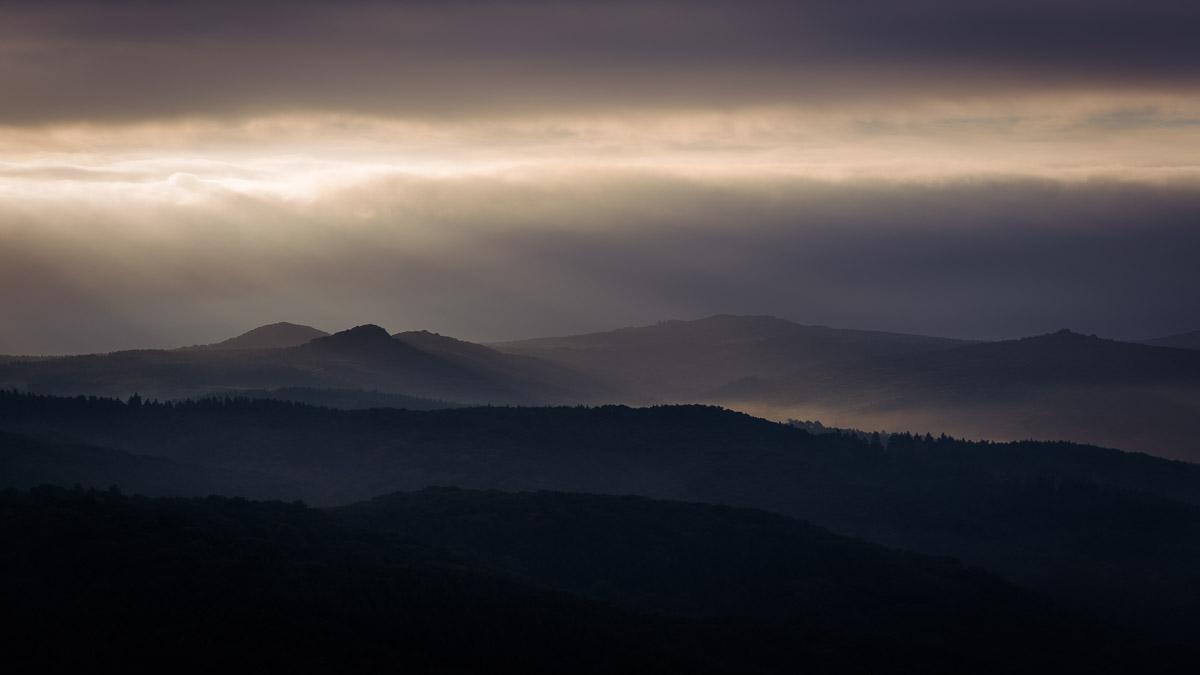 Siebengebirge, Silhouette