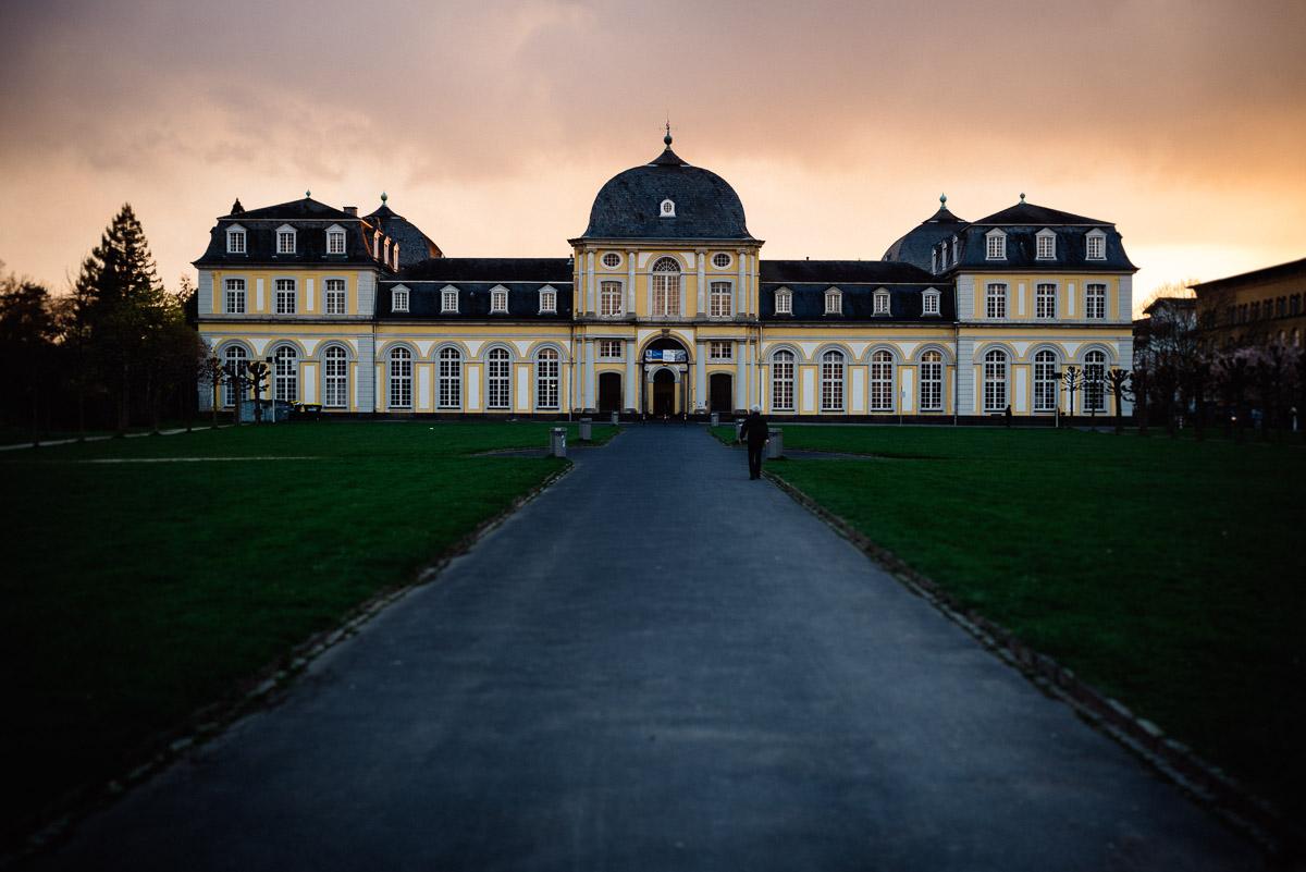 Das Poppelsdorfer Schloss umfasst einen botanischen Garten