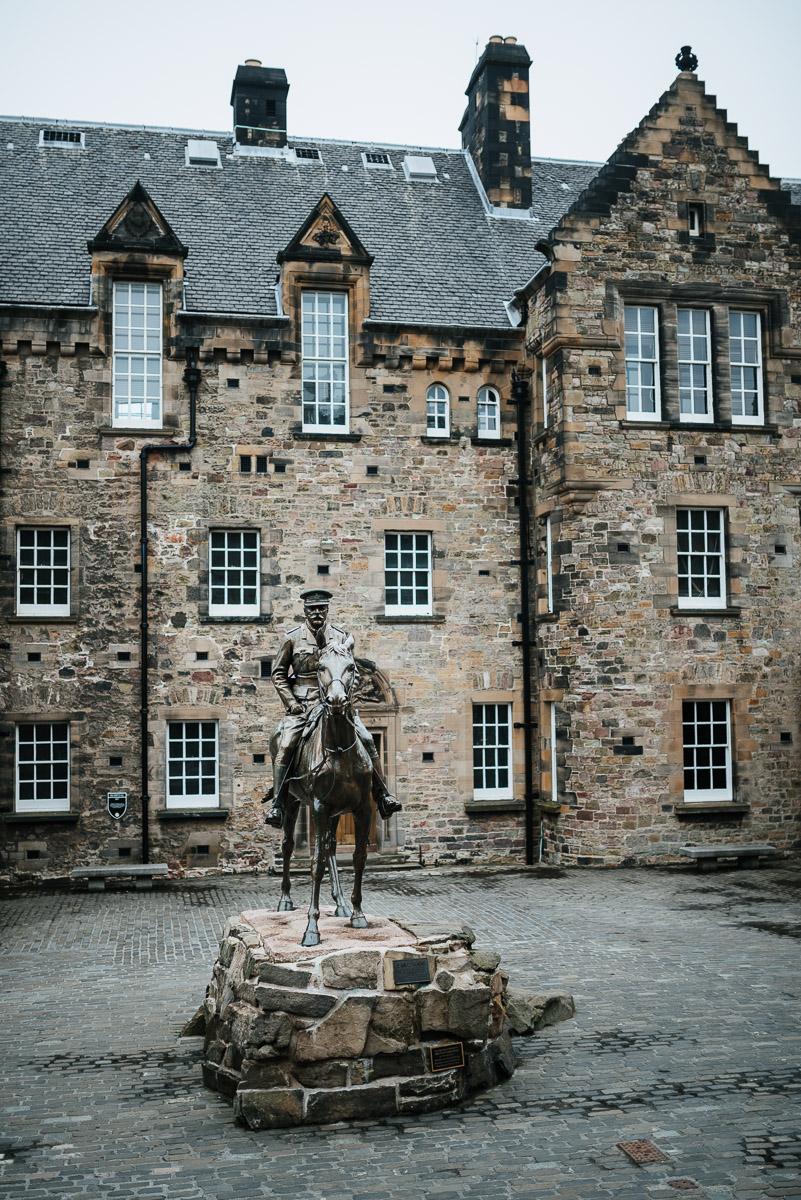 Edinburgh Castle von innen