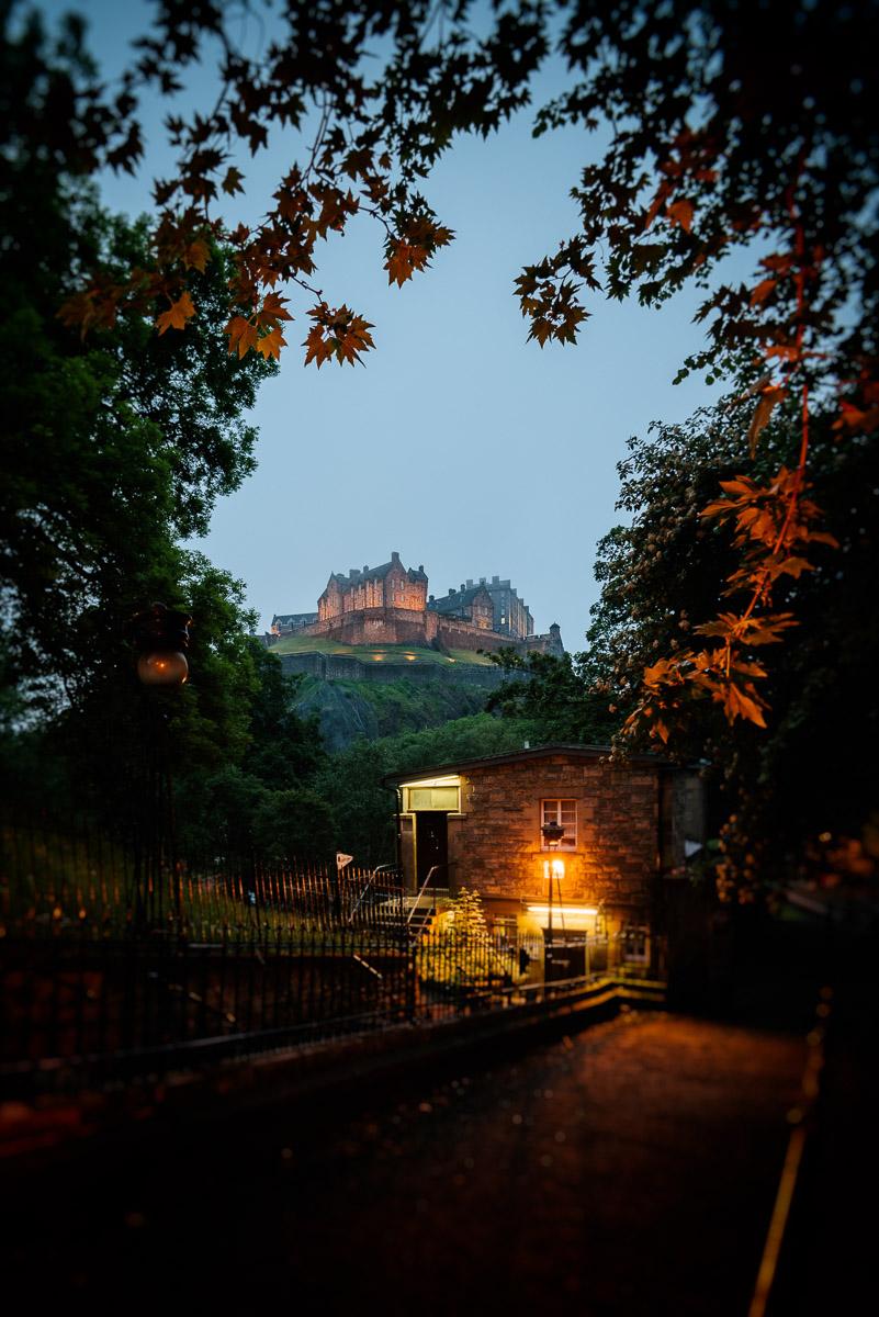 Edinburgh Castle auf dem Castle Rock