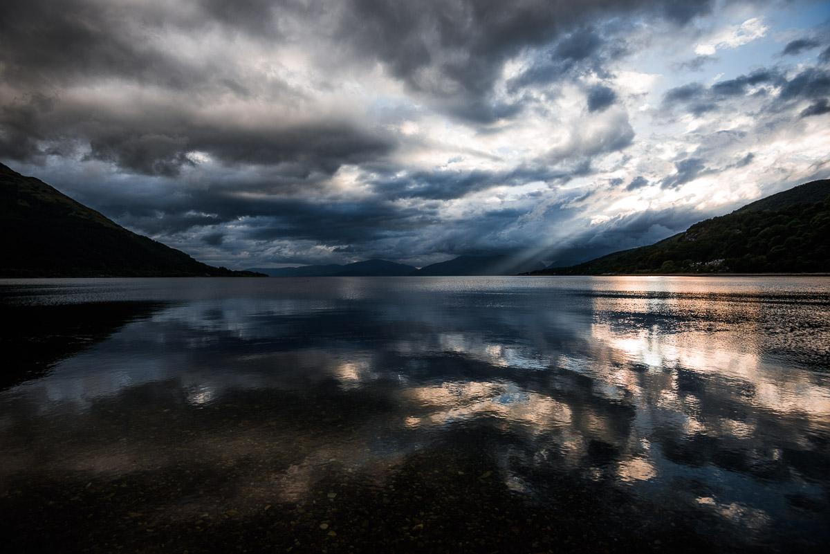 Loch Linnhe - auf der rechten Seite North Ballachulish (Glen Coe)