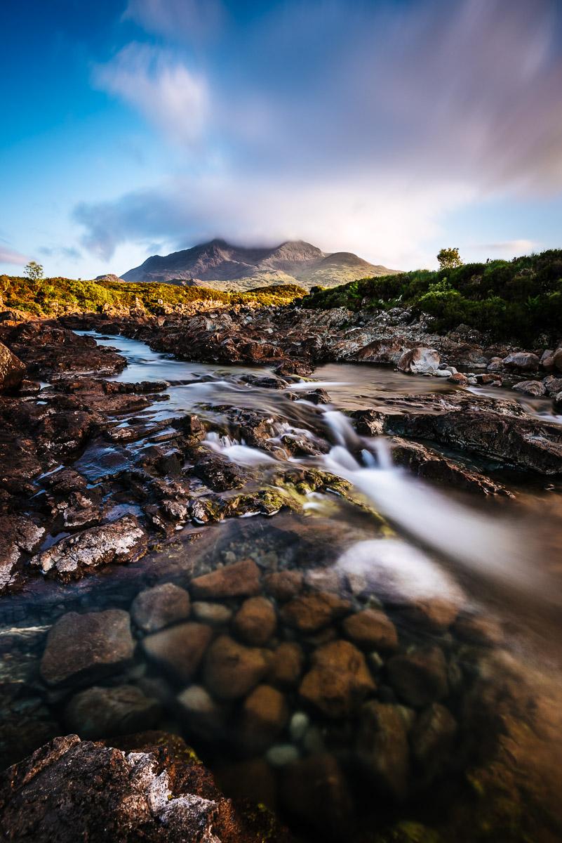 Sligachan mit Blick auf Sgurr nan Gillean (Skye)