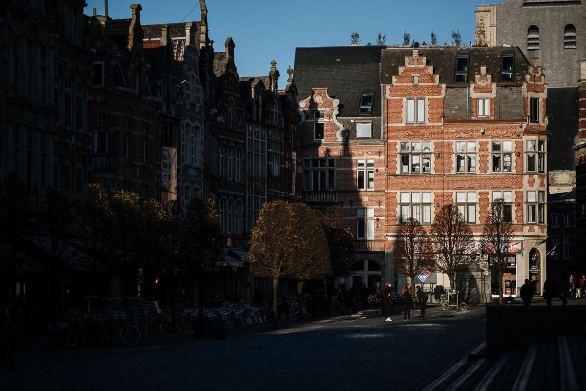 Oude Markt Leuven (Belgien)