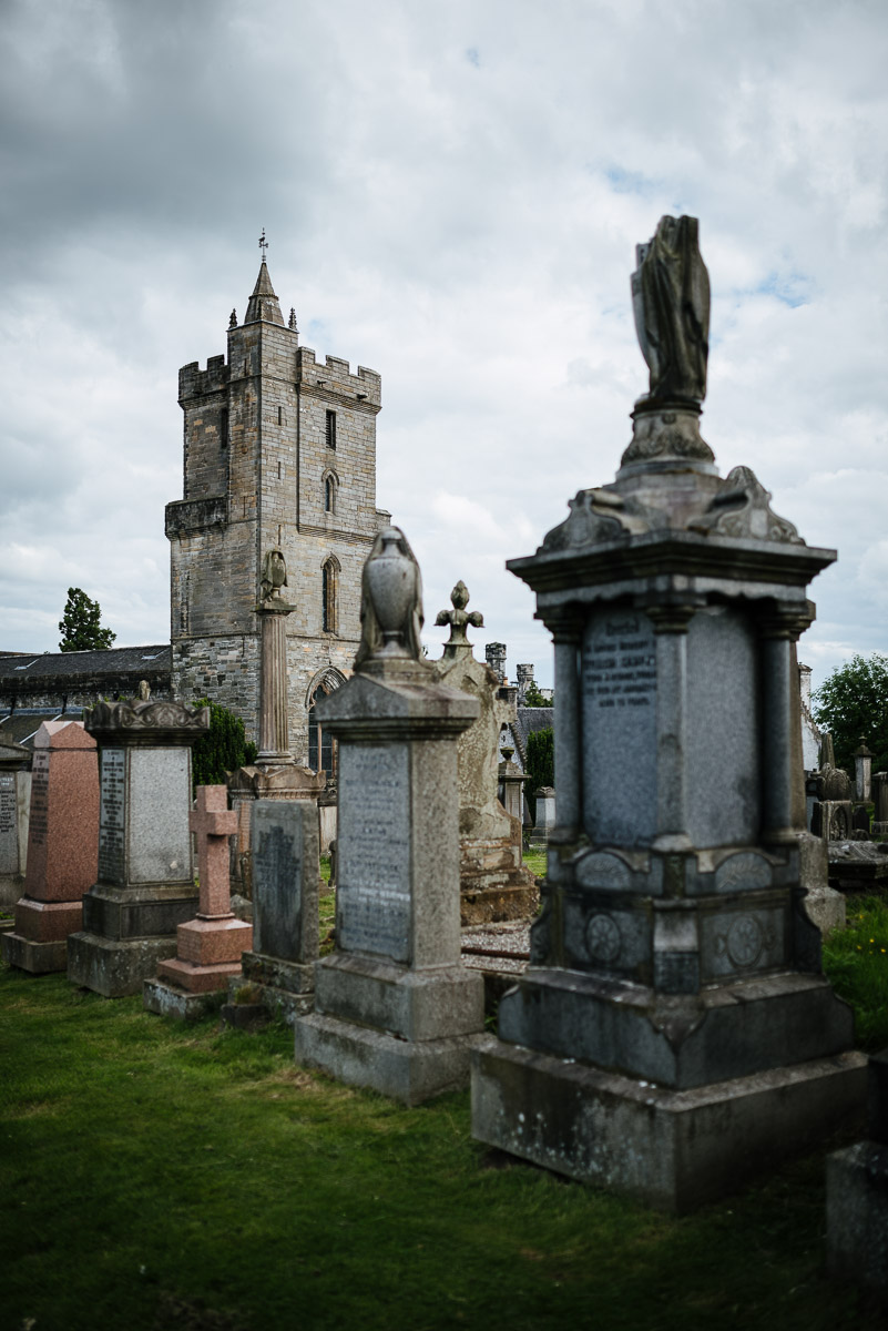 Friedhof beim Stirling Castle