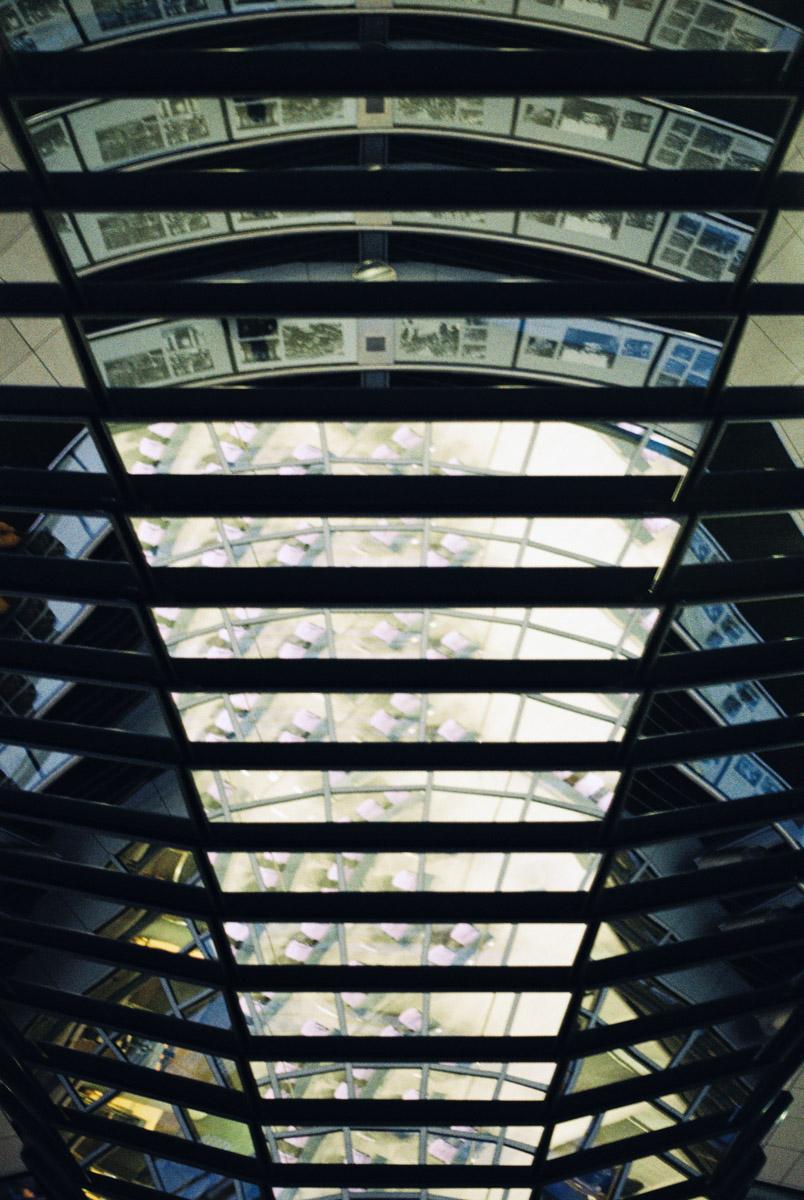 Der Reichstag von innen (Berlin)