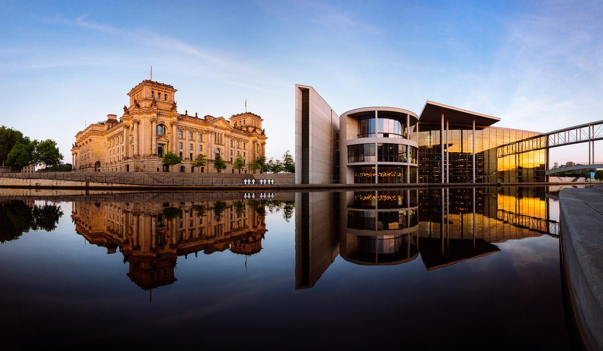 Klassischer Blick auf das Paul-Löbe-Haus (Berlin)