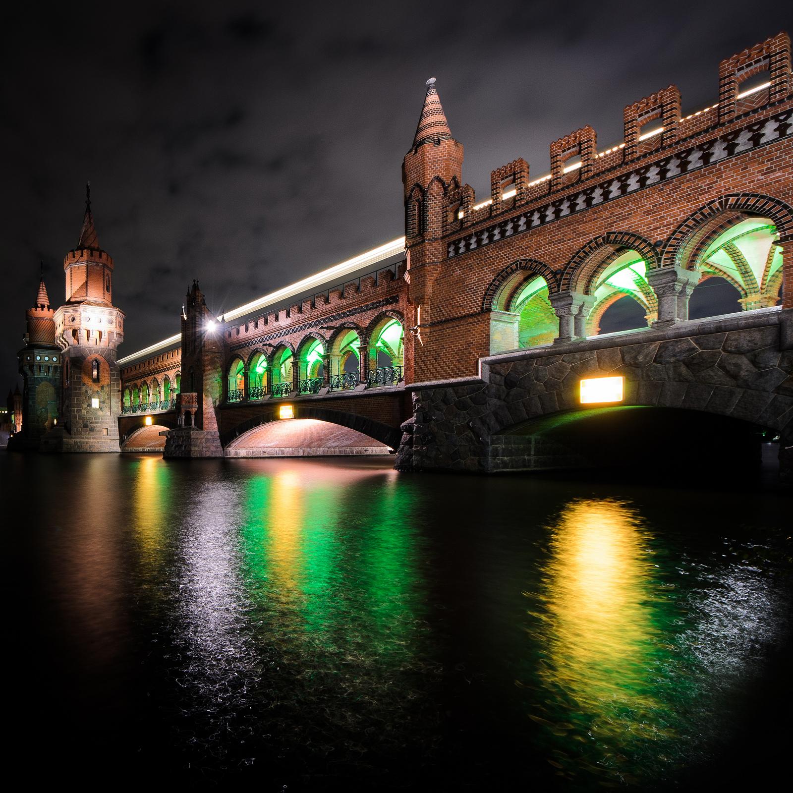 Oberbaumbrücke - Festival of Lights 2012