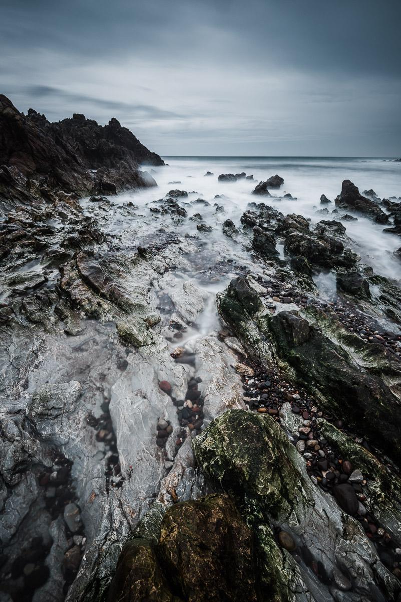 Steinküsten bei St Abbs (England)