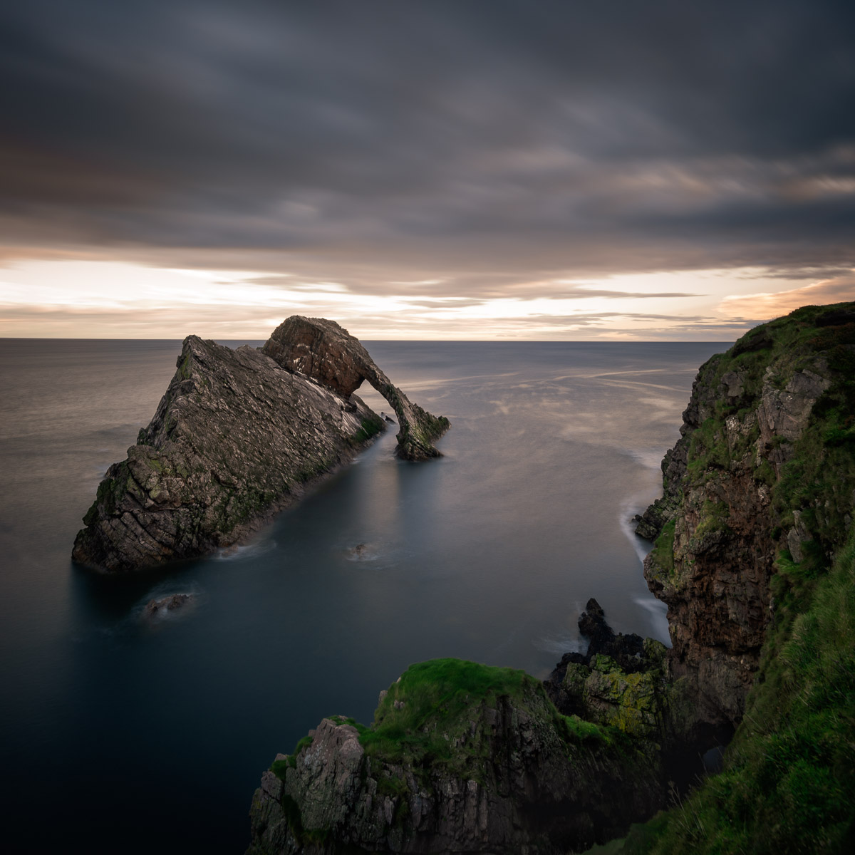 Bow Fiddle Rock (Schottland)