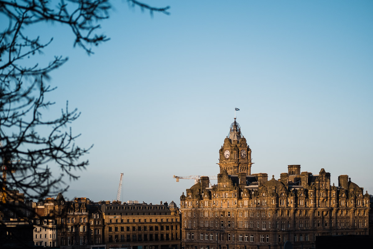 The Balmoral in Edinburgh