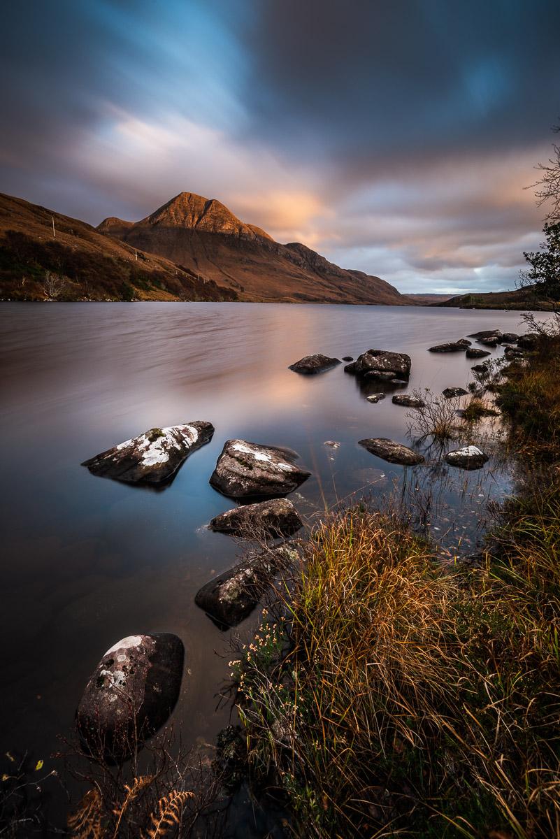 Loch Lurgainn mit Blick auf Cùl Beag