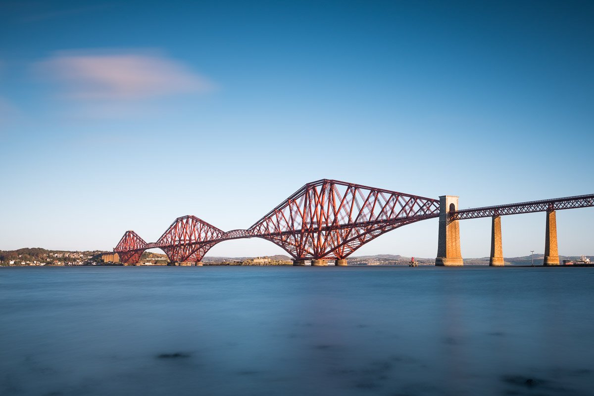 Forth Bridge in Edinburgh