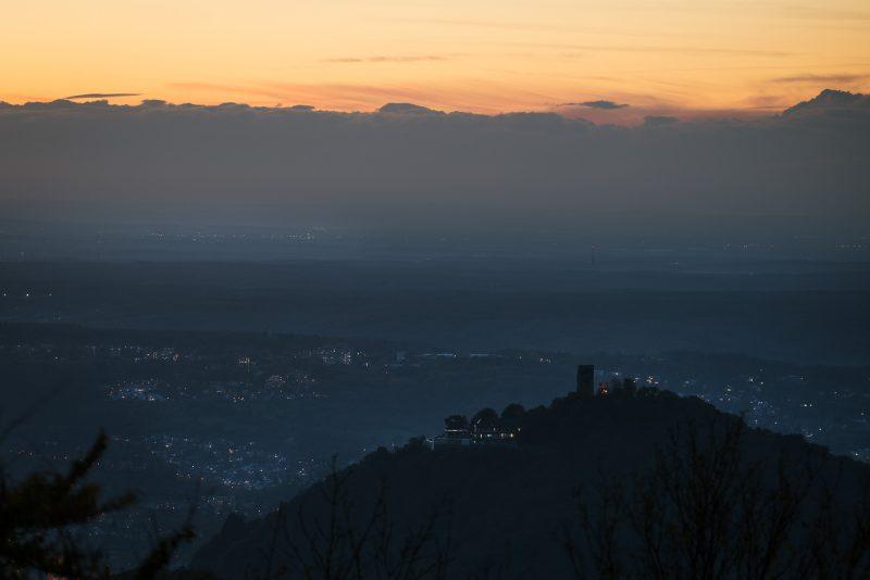 Drachenburg von der Löwenburg